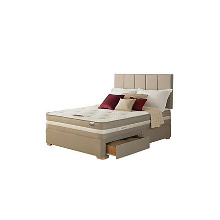 Super King Divan Set Of Silentnight Geltex Affinity 1350 Mirapocket Super King