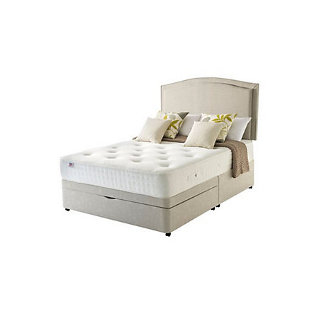 Rest assured 800 pocket memory king size 2 drawer ottoman for King size 2 drawer divan