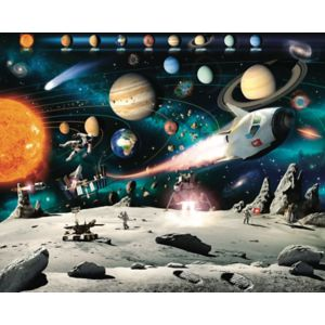 View Space Adventure Wall Mural details