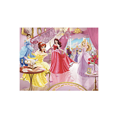 Walltastic disney fairy princess wall mural departments for Fairy princess mural