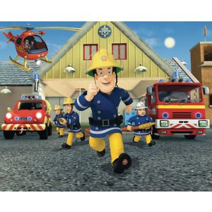 walltastic 12 panel fireman sam wall mural departments fireman sam wall mural wayfair uk