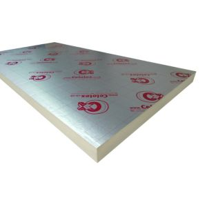 View Celotex GA4050 Insulation Board, (L)2400mm (W)1200mm (T)50mm Pack of 1 details