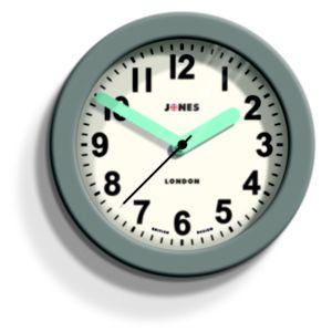 Image of Jones Fab Contemporary Grey Wall clock