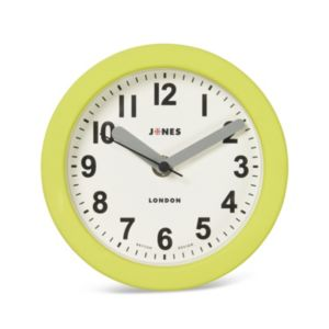 Image of Jones clocks Fab Lime green Analogue clock