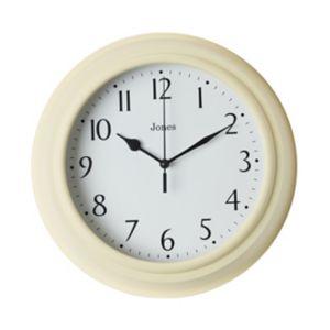 Image of Jones Can Yellow Wall clock