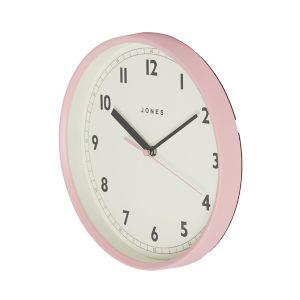 Image of Jones Dime Contemporary Pink Quartz Clock