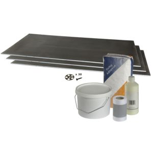 View Aquadry Wetroom Extension Kit (L)1.22m (W)600mm details