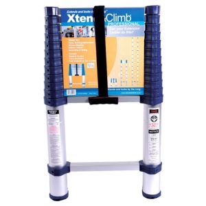 View Xtend & Climb Aluminium 1-Way Telescopic Extension Ladder, (H)3.8M details