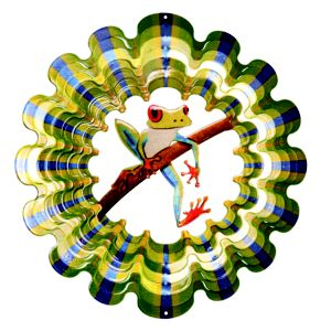 Image of Active Frog Wind Spinner