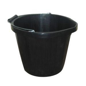 Image of Active Black Plastic 13500 ml Multi Purpose Bucket