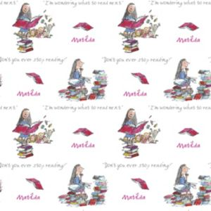 View Roald Dahl Matilda Multicolour Wallpaper details