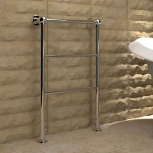 View Kudox Penswick Towel Warmer Chrome (H)850 (W)610mm details