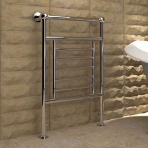 View Kudox Vera Towel Warmer Chrome (H)914 (W)610mm details