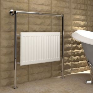 View Kudox Levana Towel Warmer White (H)952 (W)838mm details