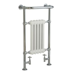 View Kudox Victoria Traditional Towel Warmer Chrome Effect (H)952 (W)500mm details
