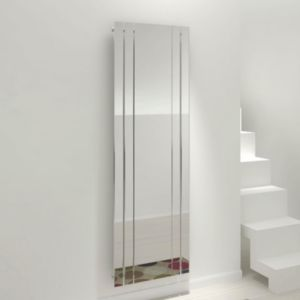 View Kudox Tova Mirror Vertical Radiator, (H)1800 (W)600mm details