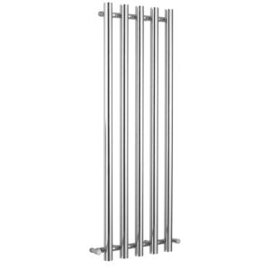 View Kudox Seresso Vertical Radiator Chrome, (H)1500 (W)500mm details