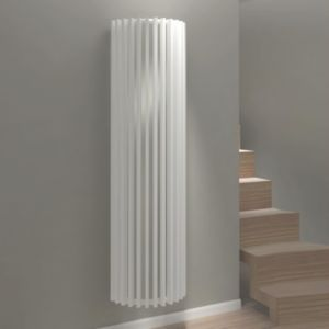 View Kudox Tallos Vertical Radiator White, (H)1800 mm (W)500mm details