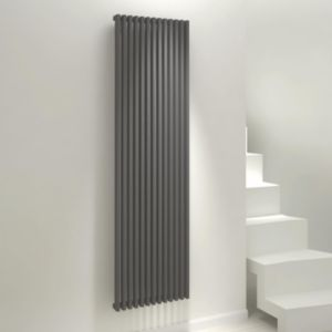 View Kudox Xylo Vertical Radiator Anthracite, (H)1800 mm (W)500mm details