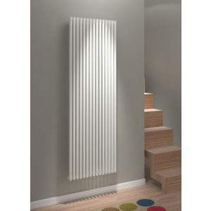 View Kudox Xylo Vertical Radiator White, (H)1800 mm (W)580 mm details