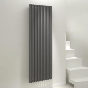 View Kudox Xylo Vertical Radiator Anthracite, (H)1800 (W)580mm details