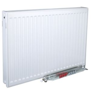 Kudox Type 22 Double Panel Radiator White  (H)400mm (W)1200mm