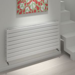 View Kudox Tira Horizontal Radiator White, (H)588 mm (W)1200mm details
