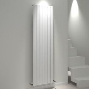 View Kudox Tira Vertical Radiator White, (H)1800 mm (W)514mm details
