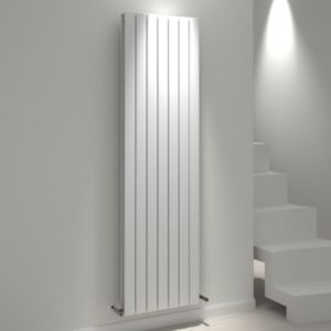 View Kudox Tira Vertical Radiator White, (H)1800 (W)514mm details