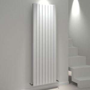 View Kudox Tira Vertical Radiator White, (H)1800 mm (W)588mm details