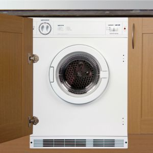 Cata TDS60W White Built In Tumble Dryer