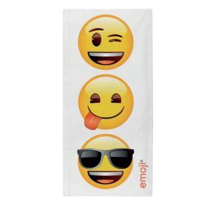 Image of Emoji Faces Multicolour Towel
