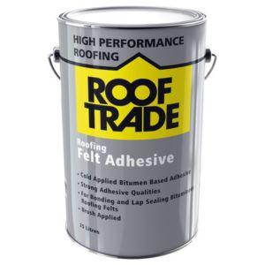 ROOFTRADE Black Roofing Felt Adhesive 25L