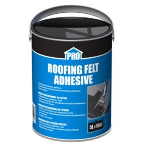 Image of Roof pro Black Solvent-based adhesive 5000ml