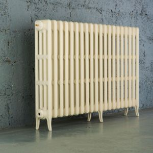 Arroll Neo-Classic 4 Column Radiator  Cream (W)1114mm (H)760mm