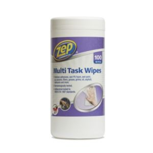 Image of Zep Commercial Multi-Surface Wipes Pack of 100