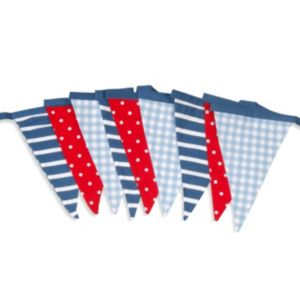 View Stripe, Polka Dots & Gingham Decorative Bunting, (L)3m details