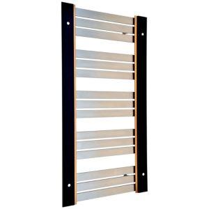 Accuro Korle UMBRA Silver Towel Warmer (H)955mm (W)574mm