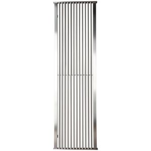 Image of Accuro Korle IMPERIAL Vertical Radiator Stainless Steel (H)2020 mm (W)500 mm