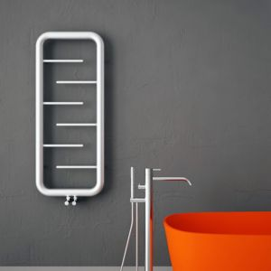 Image of Carisa Aren Towel warmer (H)1200mm (W)500mm