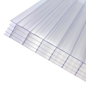 Image of Clear Polycarbonate Multiwall Roofing Sheet 2m x 690mm
