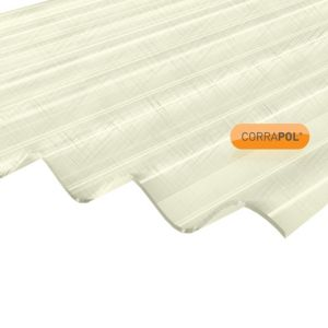 Image of Clear Polyester Corrugated Roofing Sheet 2m x 950mm