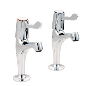 View Boston Chrome Effect Pillar Tap details