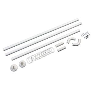 View B&Q Shower Curtain Rod (L)840mm details