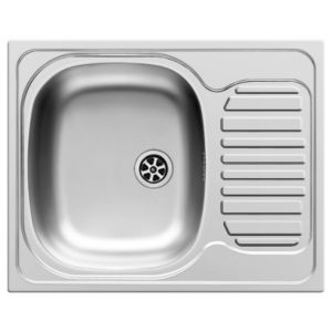 View Aurora 1 Bowl Stainless Steel Sink & Drainer details