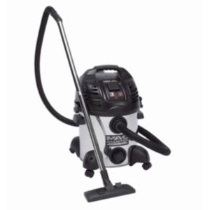 View Mac Allister Black & Silver Corded Wet & Dry Vacuum 30L details