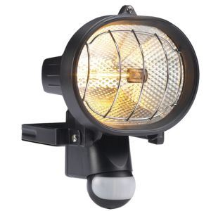 View B&Q Mains Powered 300W Halogen Sensor Floodlight details