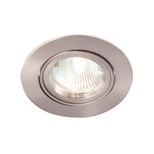 Image of Robus Brushed chrome effect Downlight 50 W