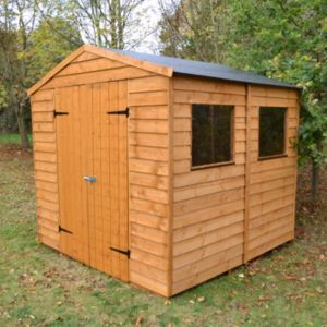 View Blooma 7X7 Apex Overlap Wooden Shed details