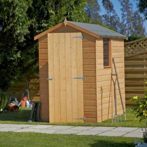 View 6X4 Apex Shiplap Wooden Shed - with Assembly Service details
